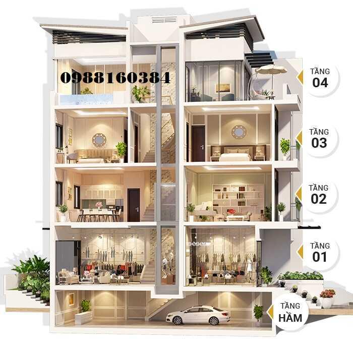 Liền kề shophouse Viha Complex