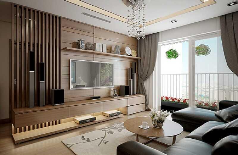 7 mẫu phòng khách sang chảng chung cư viha complex