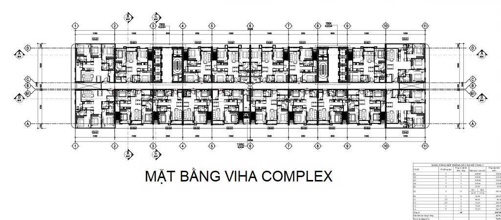 mặt bằng chung cư viha complex
